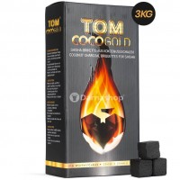 Carbuni Narghilea Tom Cococha Gold 3 kg (big box)