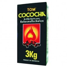 Carbuni Narghilea Tom Cococha Yellow 3 kg (big box)
